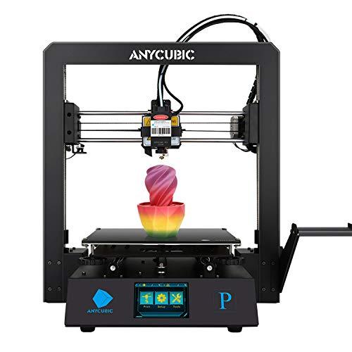 ANYCUBIC MEGA PRO 3Dプリンター、FDM 3Dステレオプリンター&レーザー彫刻、スマート補助レベリング、TPU/...