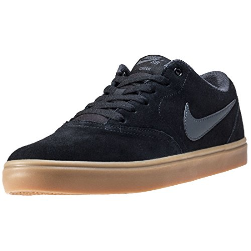 Nike SB Check Solar - Zapatillas para Hombre, Multicolor (Gunsmoke/Black-White 011), 48.5 EU