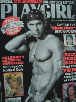 Playgirl Magazine June 1993 Celebrity Secrets Revealed, Daytime's TV HUNK HUNT
