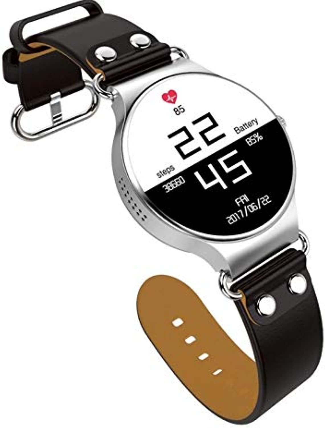 GaoMiTA Smart Watch Android Round Screen Card GPS Positioning Watch WiFi Weather Watch