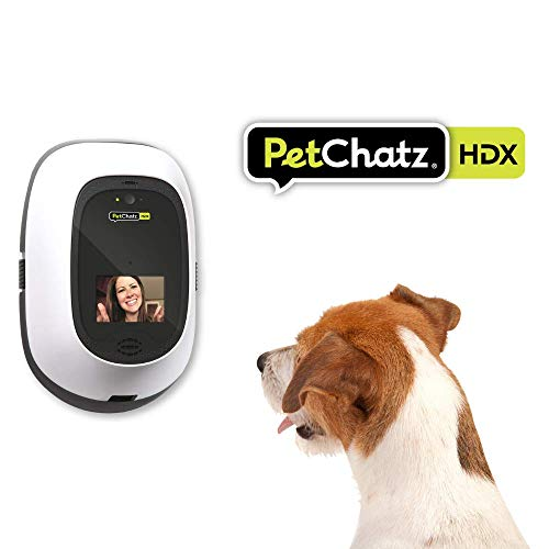 PetChatz HDX: [New] USA Made Luxury 2-Way Audio & Video Pet Treat Camera, HD 1080p, Motion/Sound Detection Smart Video Recording, Streams DOGTV, Calming Aromatherapy, Designed for Dogs and Cats