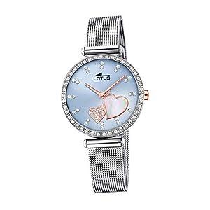 Lotus Reloj Analógico para Mujer de Cuarzo con Correa en Acero Inoxidable 18616/2
