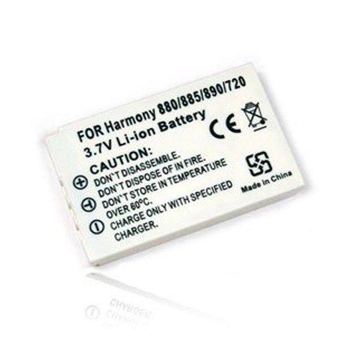 weltatec kwaliteitsaccu Accu universele afstandsbediening Logitech compatibel met Logitech Harmony 895 universele afstandsbediening - krachtige accu Li-ion batterij vervangende batterij universele afstandsbediening - accu - (alleen originele weltatec met hologramm)