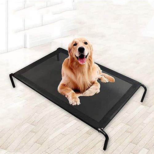 Erhöhte Hundebett Tragbare Raised Haustier Kinder B. Wasserdicht Atmungs Mat Durable Mesh Gewebe No-Rutsch-Füße die Außen- oder Innen,XL
