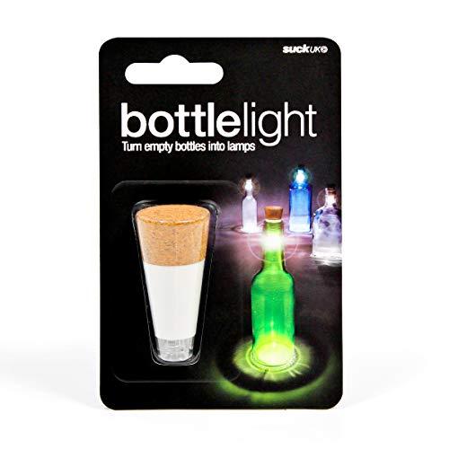 SUCK UK Wiederaufladbares Flaschenlicht