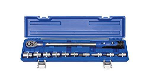 Projahn 394260 Drehmomentschlüssel+Stecknusseinsätze, 40-200 Nm
