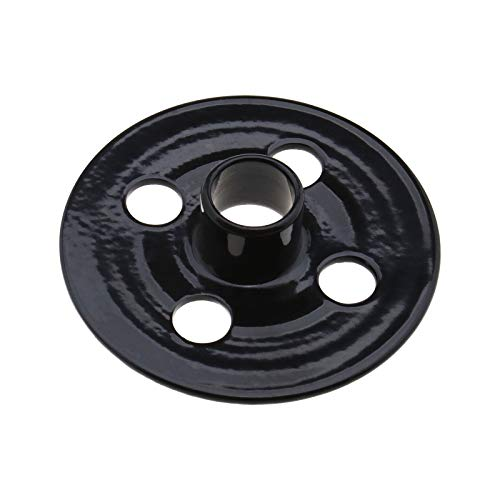 344364-5 - Casquillo de guía para plantillas (14 mm x 14 mm x 16 mm, compatible con router Makita 3612C RP0900 RP1801 RP2301 DRT50), color negro
