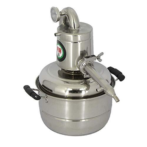 ZHNGHENG - Destilador de agua para vino (10 L, acero inoxidable)