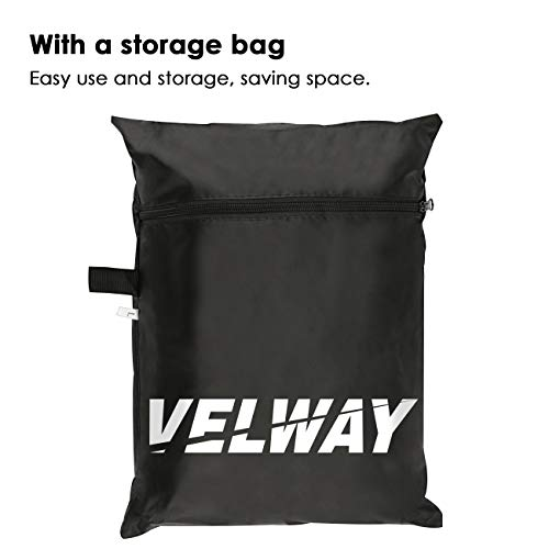 Velway Gas Grill Cover Barbecue Cover Heavy Duty BBQ Cover Oxford Fabric large 58inch Water-resistant Windproof UV Fade…