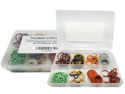 OSK WGP Autococker Paintball O-Ring Kit 5X Rebuild w/Case