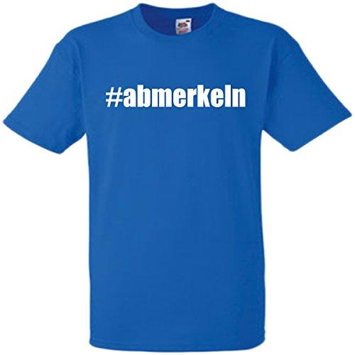 #abmerkeln T-Shirt Größe L