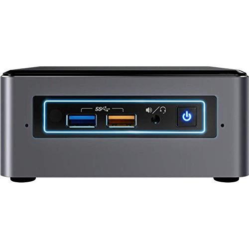 Intel Nuc Mini PC Intel Core i3-7100U 2x2, 40GHz 16GB RAM 512GB SSD HDMI RJ-45 Mini Displayport Windows 10 Professionale