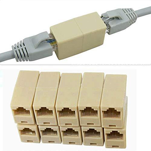 Anewu Módulo Keystone Jack, conexión de Cable de Red Toma de Red...