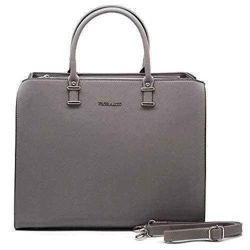 Flora & Co handtas dames werk shopper tas elegante hengseltas voor kantoor school winkelen