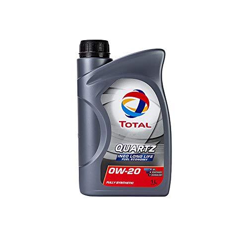 Total motorolie motorolie smering smeermiddel kwarts Ineo Longlife Fuel Economy 0W-20 1L 209315
