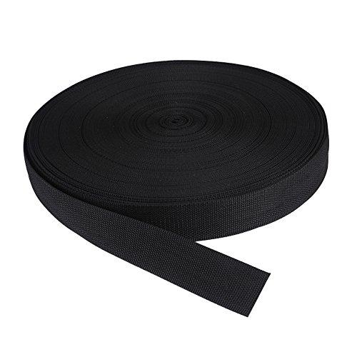 tukan-tex Sangle TN50-03 Noir 50 mm x 25 m