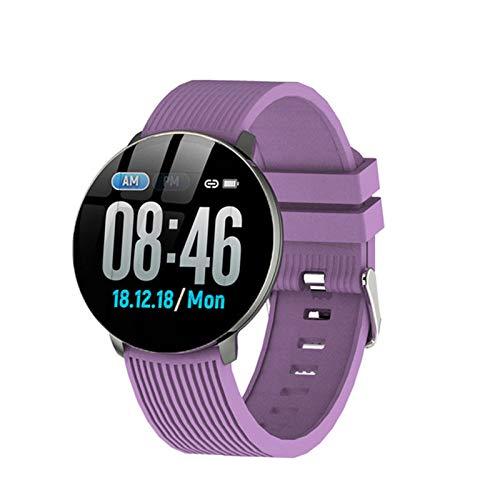 ZNSBH Smartwatch, fitnessarmband, sporthorloge, smartwatch, slaapmonitor, stappenteller, polshorloge met iOS Android voor kinderen, dames en heren voor hardlopen, wandelen en klimmen