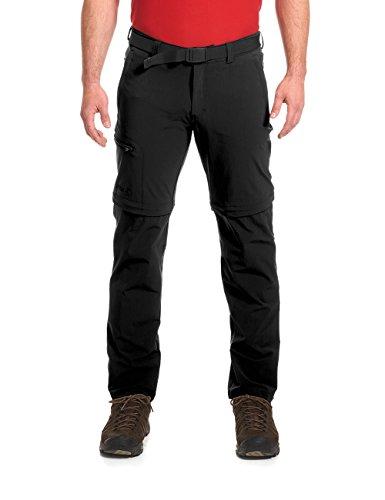 Maier Sports Tajo Pantalon Court Fonctionnel en Tissu Stretch avec Fermeture Éclair en T Noir Taille 52
