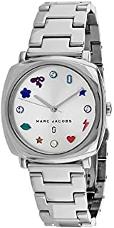 Marc Jacobs Womens Quartz Watch, Analog Display and Stainless Steel Strap MJ3548
