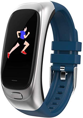 Activiteitstracker + U-schijf 2 in 1, hartslagmeter, stappenteller, bloeddrukzuurstof, waterdicht multifunctioneel horloge