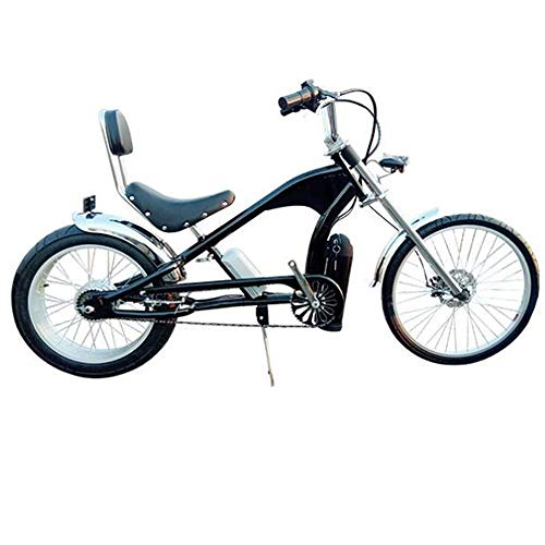 KUSAZ Bicicleta eléctrica, Bicicleta de montaña, batería de Litio, Ejercicio de Ahorro de Mano de Obra para Viajes al Aire Libre por la Playa-Negro