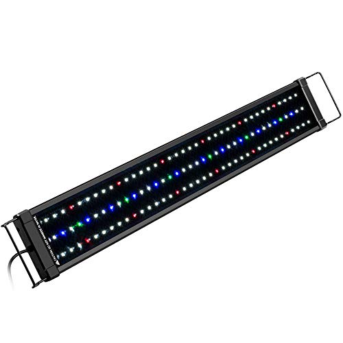 NICREW ClassicLED Plus Planted Aquarium Light, Full Spectrum LED Fish Tank Light...