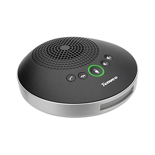 Tenveo Speakerphone A2000 Conference Call Speaker USB Conference Speakerphone for skype Zoom Webinar 8-10 People Business Conference (A2000)