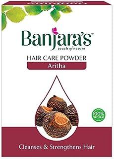 Banjaras ARITHA Hair Care Powder Cleanses & Strengthens Hair/Herbal Hair Pack Aritha Powder 100gm