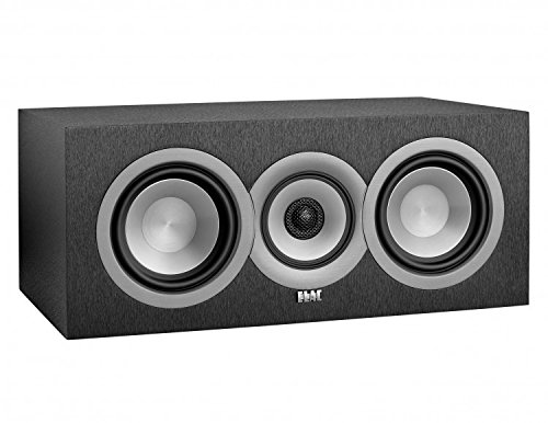 ELAC Uni-fi UC5 Center Speaker (Black, Single) Centerlautsprecher schwarz Vinyl
