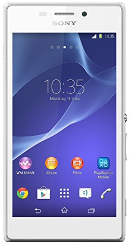 Sony Xperia M2 Smartphone (12,2 cm (4,8 Zoll) TFT-Display, 1,2 GHz Quad-Core-Prozessor, 1 GB RAM, 8 Megapixel Kamera, NFC-fähig, Android 4.3) weiß