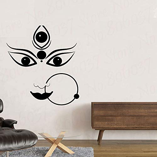 yaofale Durga Hindu God Vinyl Stickers Hinduism Wall Stickers Interior Bedroom Decoration Asian India India Mural Decoration Wallpaper