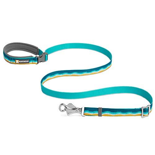 Ruffwear Crag Hundeleine, Kann in der Hand Gehalten oder um die Hüfte Getragen Werden, Reflektierende und Verstellbare Leine, Meeresschaum