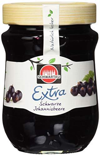 Schwartau Extra Schwarze Johannisbeere, Konfitüre, 8er Pack (8 x 340 g)