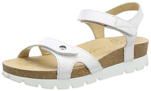 Panama Jack Sulia Basics, Sandalia con Pulsera para Mujer, Blanco (Blanco B1), 40 EU