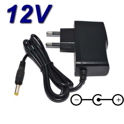 Top Cargador® Adaptador alimentación Cargador 12V para Reproductor DVD portátil Avantia 707TDT