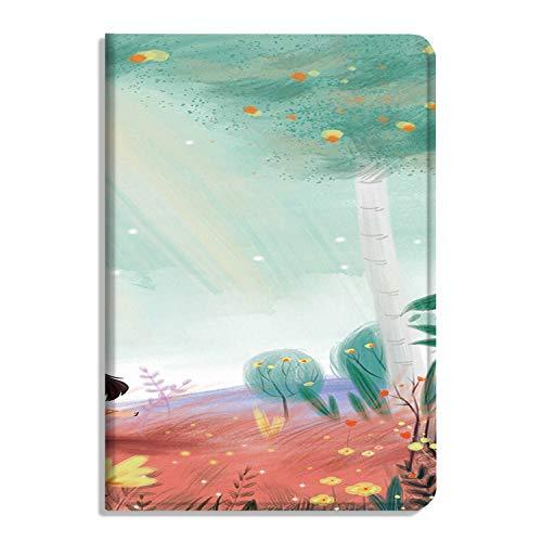 Funda protectora para iPad Air 4ª generación 2020 de piel sintética con soporte para Apple Cover Dreamy pintado a mano ilustraciones -179