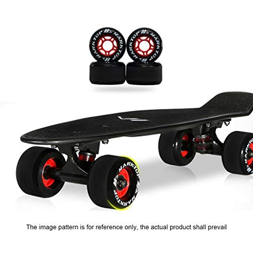 GDF-Skateboards Skateboard Standard Kleine visplank, bananen, beginners en tieners, voor jongens