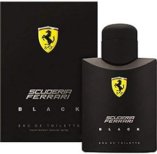 Perfume Importado Ferrari Black 125ML Made In Italy