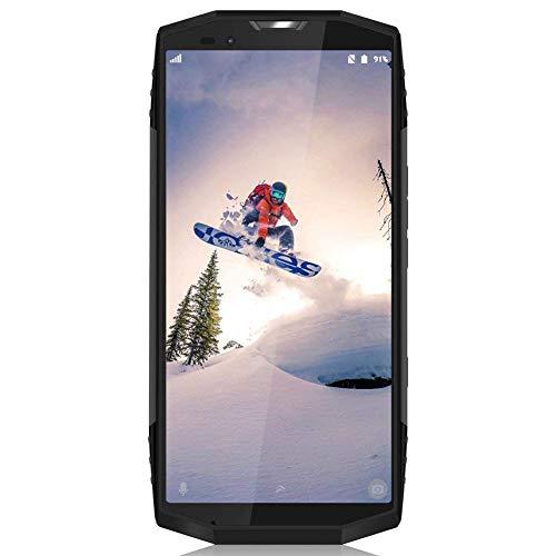 [2018 Nuevo] Blackview BV9000 al aire libre a prueba de agua Smartphone IP68, resistente a los golpes ,, 18: 9 5.7 Display '' HD IPS, el trabajo Dual SIM 4G móvil LTE, Helio P25 Octa-Core 4GB RAM 64GB ROM, doble cámara trasera + 13MP 5MP, cámara frontal 8MP, 4180mAh batería con Rapid Reload, 7.1 androide, GPS, GLONASS, NFC, Wi-Fi, brújula, plata