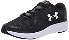 Lightweight mesh upper delivers complete breathability Foam padding placed around your ankle collar & under the tongue for an incredibly comfortable fit & feel Dual-layer Charged Cushioning midsole is firmer below the heel & softer below the forefoot...