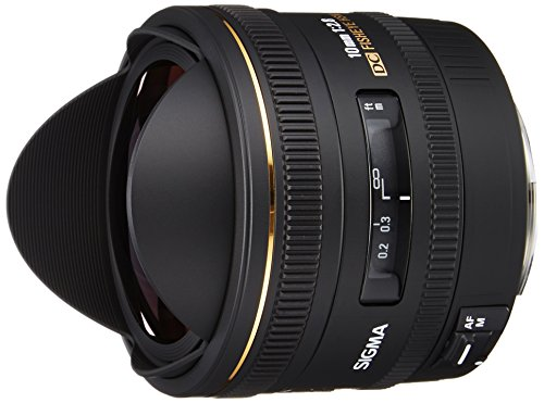 Sigma 10mm f/2.8 EX DC HSM Fisheye Lens for Canon Digital SLR Cameras (OLD MODEL)