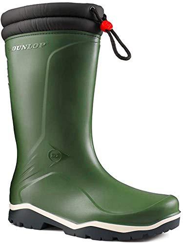 Gummistiefel Dunlop Blizzard, mit Fleece gefüttert, isoliert bis -15°C, Grün - grün - Größe: 43 EU