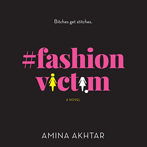 #FashionVictim audiobook cover art