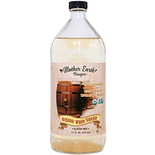 Our #4 Pick is the Mother Earth Organic White Vinegar