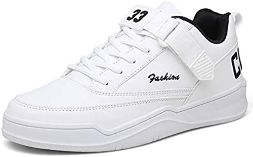 LOVDRAM LOVDRAM Chaussures Hommes Spring New Hommes's chaussures Fashion Korean Faible-Cut Décontracté chaussures Velcro Non-Slip Student Sports Hommes's chaussures  pour pas cher