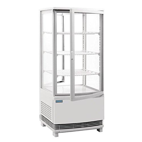 Polar - Refrigerador curvado para puerta (86 L)