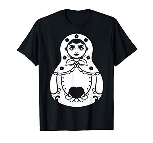 Russisch Matroschka | Matryoshka Babushka | Russland T-Shirt