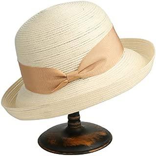 CHENDX Hat Female Classic Sunscreen Beach Hat Summer Tide Visor Summer Folding Sun Hat (Color : Beige, Size : 56-58cm)
