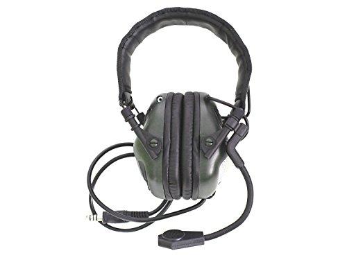 Earmor Universal Bügel Headset M32 mit NRR 22 Schallschutz, voll verstellbar - Olive [M32-FG]