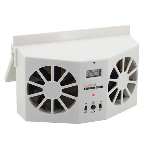 Markenlos Doppel KFZ Solar Ventilator geeignet für Auto,LKW,Wohnmobil UVM.